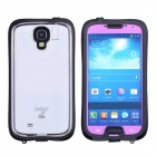 iPega Si019 Ultra-Thin Waterproof Protective Case for Samsung Galaxy S4 i9500 - Black + Purple