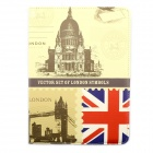 Great Britain Architecture 360 Degree Rotation PU Leather Case for Samsung P600 / P601