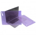 "ENKAY Crystal Hard Protective Case for Macbook Pro 13.3"" with Retina Display - Translucent Purple"