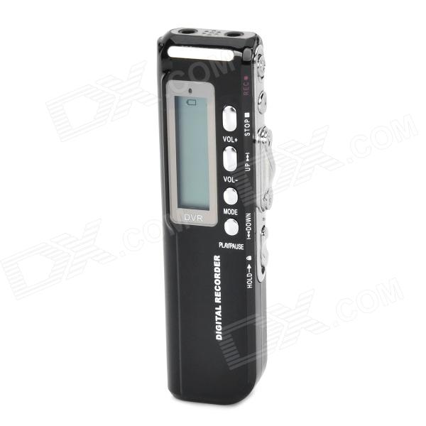где купить  Thchi CM-010 Digital MP3 Voice Recorder w/ SD / FM / Built-in Speaker - Black (8GB / 2 x AAA)  дешево