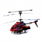 DFD F187 USB Rechargeable 3-CH R/C Helicopter w/ Gyroscope - Black + Red