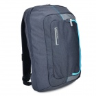 "KINGSONS KS3055W Convenient 15.6"" Backpack - Deep Blue + Grey"