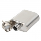 AceCamp 1510 Mini Portable Stainless Steel Keychain Flask Wine Pot - Silver