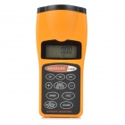 "CP3007 Handheld 1.9"" LCD Ultrasonic Electronic Rangefinder - Black + Yellow (1 x 9V)"