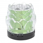 JHW-238 Lotus Seed Style Portable 3.0-Channel Speaker - Green + Black