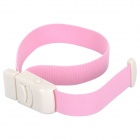 Outdoor Camping Buckle Falcons Head Sealing Elastic Belt Emergency Tourniquet - Pink + White