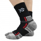 CoolChange KG- 41197 Ciclismo Anti-bacterias Calcetines seco - rápido - Negro