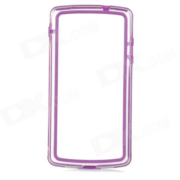 S-What Protective PC + TPU Bumper Frame for Google Nexus 5 what s your mba iq