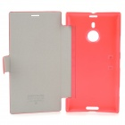 NILLKIN Fresh Series Protective PU Leather + PC Case for Nokia Lumia 1520 - Red