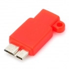 S-What Micro USB Female to USB 3.0 Micro B TYPE Male Charging & Data Sync Adapter for Samsung Note 3