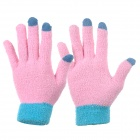 FH-01 Acrylic Plush Thicken Touch Screen Hand Warm Gloves (Pair)