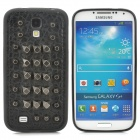 A&T Cool Protective TPU + PC + Rivets Back Case for Samsung Galaxy S4 i9500 - Black