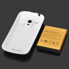 Replacement 3.7V 3200mAh Rechargeable Li-ion Battery w/ Back Case for Samsung GALAXY S3 MINI / i8190