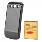 "Replacement 3.7V ""5100mAh"" Rechargeable Li-ion Battery + Back Case for Samsung S3 i9300 - Black"