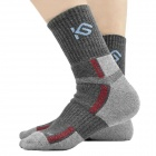 CoolChange KG-41197 Cycling Anti-bacteria Quick-dry Cycling Socks - Dark Grey