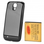 "Replacement 3.7V ""6800mAh"" Rechargeable Li-ion Battery + Back Case for Samsung S4 i9500 - Black"