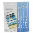 High Quality PET Matte Screen Protector for LG Nexus 5 - Transparent (5 PCS)