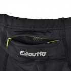 Outto 115# Men's Sports High Elastic Quick-drying Pants - Fluorescent Green + Black (Size XL)