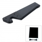 Folding Plastic Desktop Holder for Cell Phone - Black