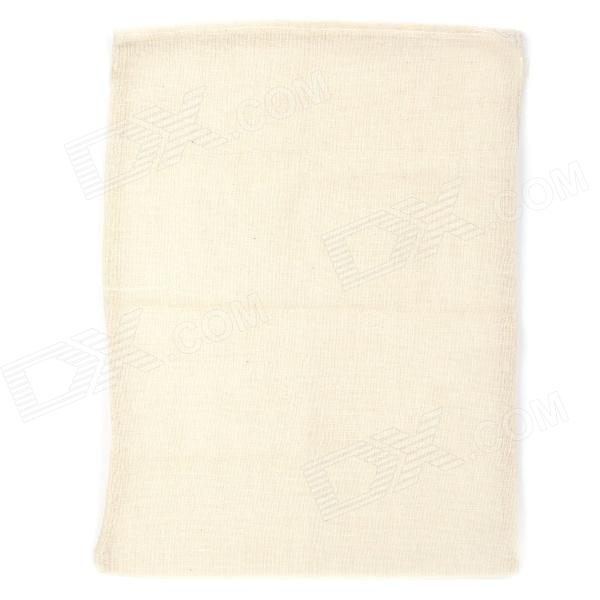 Bean Curd Cotton Gauze Filter Bag - White