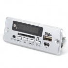 3.7 Navo ~ 5V Bluetooth MP3 tarjeta decodificadora w / FM / Stereo Amplifier - plata