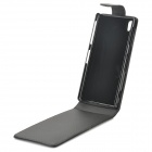 Protective Flip-Open PU Leather Case for Sony Xperia Z1 / i1 / L39h / C6902 / C6903 - Black