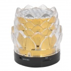 Estilo Seed JHW-238 Lotus altavoz 3.0-Channel Portable - Golden + Transparente