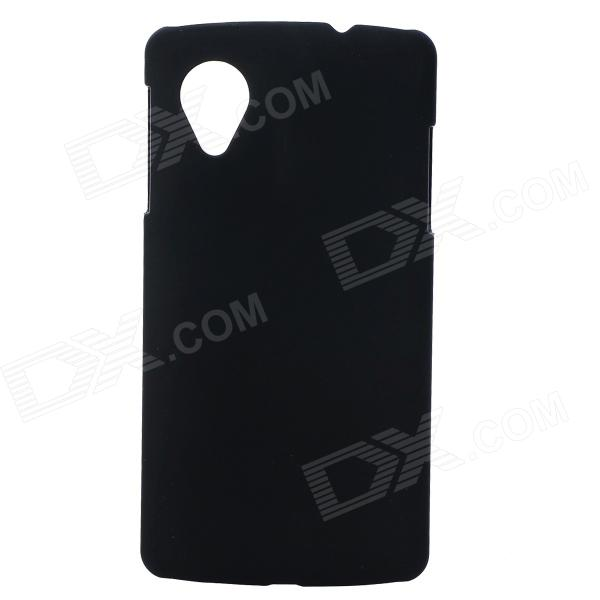 Protective Back Case w/ Screen Protector for LG Nexus 5 - Black