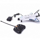 RD Rechargeable Remote Control Music 2-CH Spaceship - White + Black