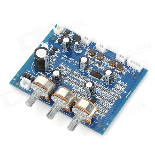 Navo AMP-2.0 10W High Pitch / baixo ajustável Amplificador Board Digital - Deep Blue