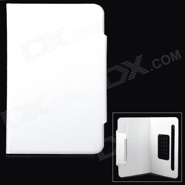 Universal Protective PU Leather + Silicone Flip-Open Case for 7