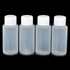 AceCamp 1402 Convenient Portable Outdoor PE Bottle - White (4PCS)