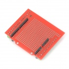 Stud Prototype Expansion Board - Red + Green + Black (Proto Screw Shield Assembled)