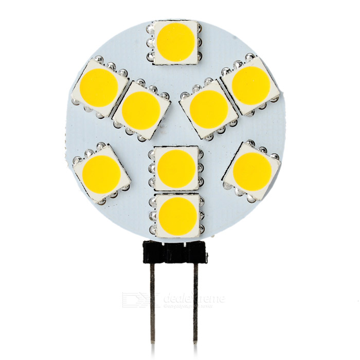 SENCART G4 GU4 GU5.3 MR11 2.5W 140lm 9-SMD 5060 LED Warm White Light Lamp (9~36V)