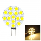 SENCART G4 GU4 GU5.3 MR11 4W 240lm 3200K 15-SMD 5060 LED Warm White Light Lamp (9~36V)