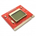 "Jtron 1.5"" LCD PCI Motherboard Intelligent Diagnostic Card / Computer Detection Card - Red"