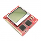 "Jtron 1.5"" LCD PCI Laptop Interface / LCD Showing Intelligent Debug Card - Red"