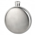 AceCamp 1511 Stylish Portable Round Shaped Stainless Steel Wine Pot Flask - Silver (150ml / 5oz)