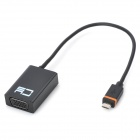 CY MH-063-BK Slimport MyDP VGA HDTV Full HD Adapter for Google Nexus 4 & 5 & Nexus 7 Tablet PC