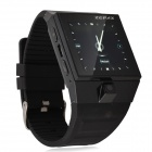 "S5 1.5"" OGS Capacitive Touch Screen Watch Style Android 4.0 Cell Phone w/ Camera / Wi-Fi - Black"