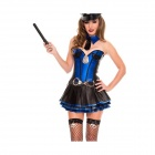 LC8720 Alluring Sergeant Stunner Costume - Blue