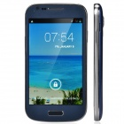 "S9940 Stylish Dual-Core Android 4.2.2 WCDMA Bar Phone w/ 4.0"", Wi-Fi, Camera - Deep Blue + Silver"