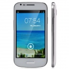 "S9940 Stylish Dual-Core Android 4.2.2 WCDMA Bar Phone w/ 4.0"", Wi-Fi, Camera - White + Silver"