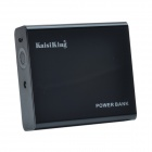 KaisiKing K-1013 10400mAh Portable Power Source Bank for Iphone / Smartphone / MP3 - Black