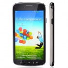 "i9295 Dual-Core Android 4.2.2 WCDMA Bar Phone w/ 4.7"" / Camera / Wi-Fi - Black + Silver"