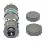 Universal 12X Zoom Lens Set for iPhone 5s / 5c / 4, Samsung Note 3 / S4 / S3 + More - Black