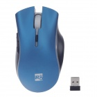 R8 1635 Stylish 2.4G Wireless 1600dpi Optical Mouse - Blue (2 x AAA)
