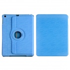 CM001 Protective Fiber Cloth + PC Case Cover Stand for Ipad AIR - Blue