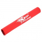 TOPCYCLING Neoprene Bike Chain Stay Protector - Red