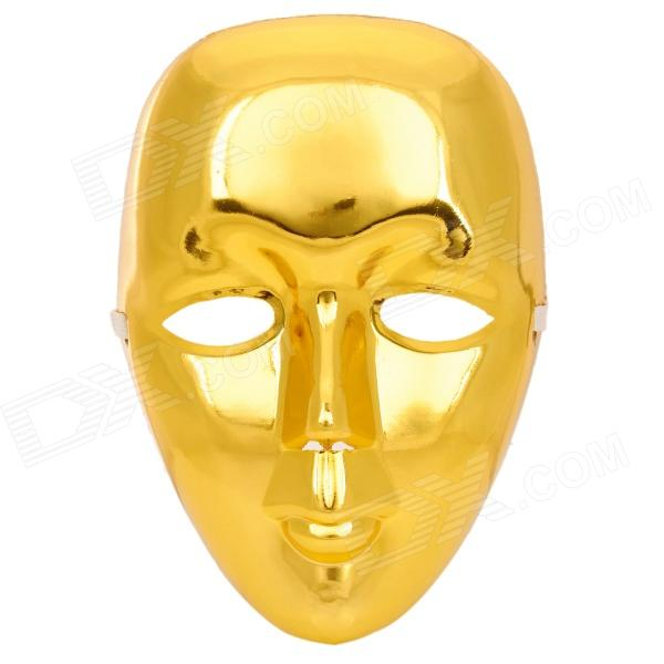 Máscara facial PVC decorativo para Hip-Hop Bboy / JabbaWo - Golden